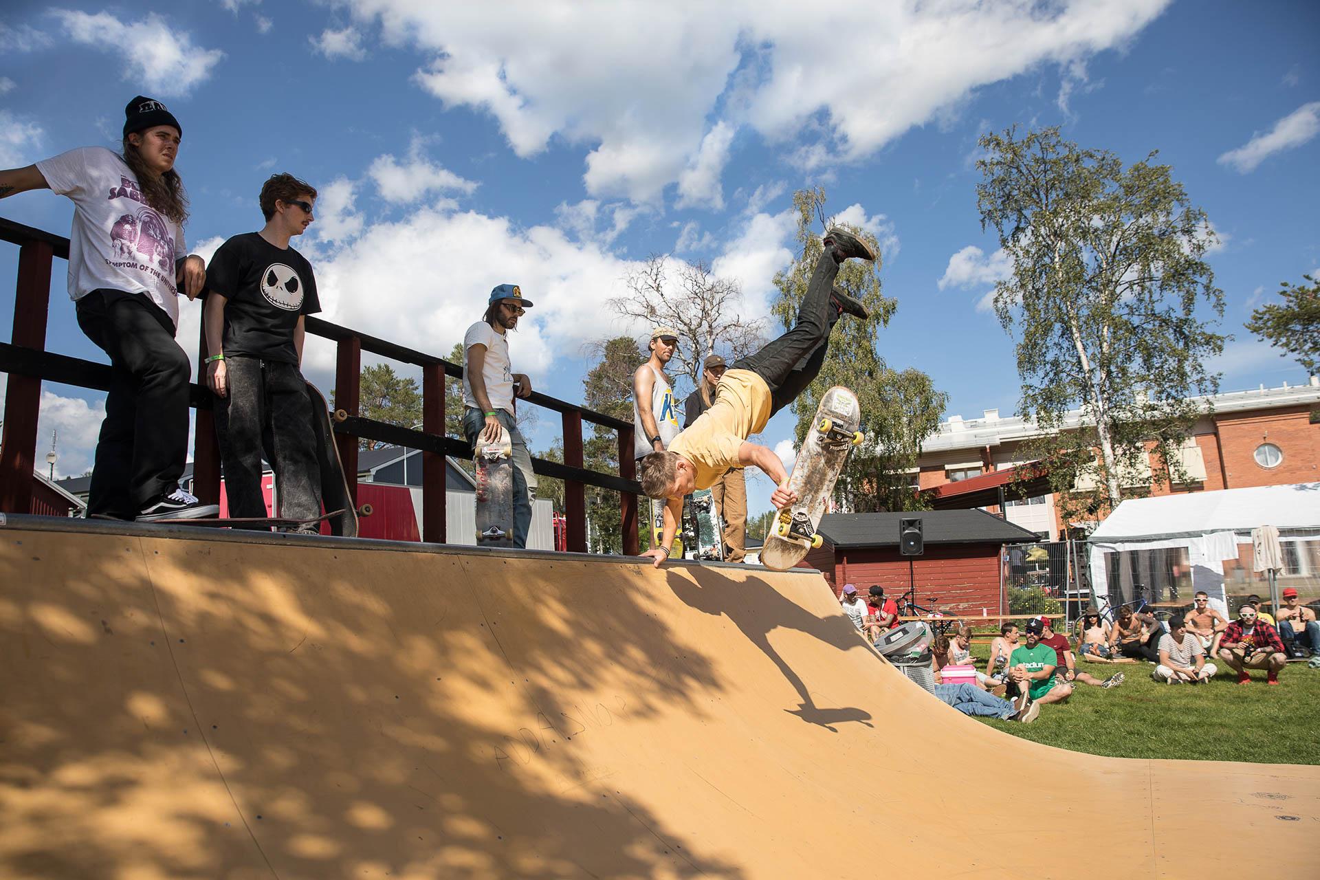 Skateboardramp Folkets Hus