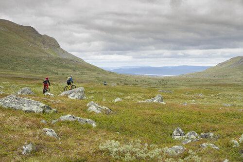 Cykling i Kittelfjäll
