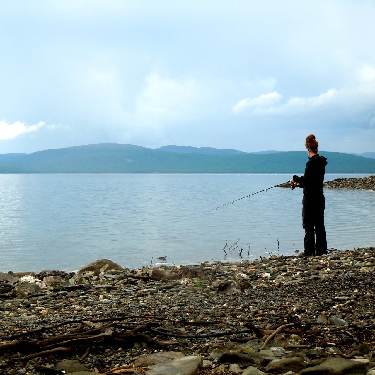 Fiske i fjällmiljö