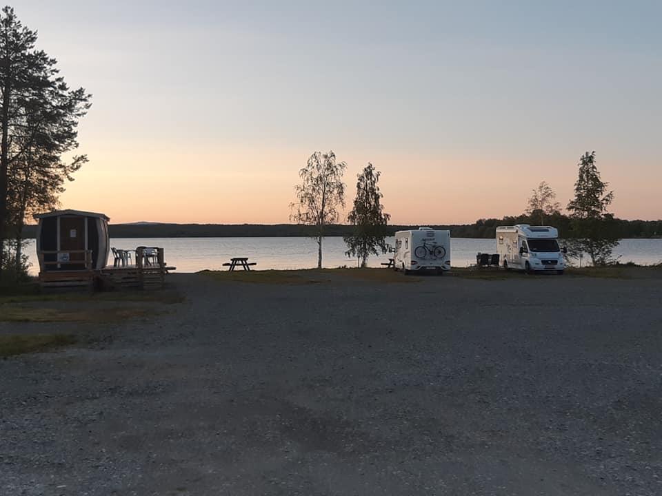 Kvällsbild Malgoviks Camping