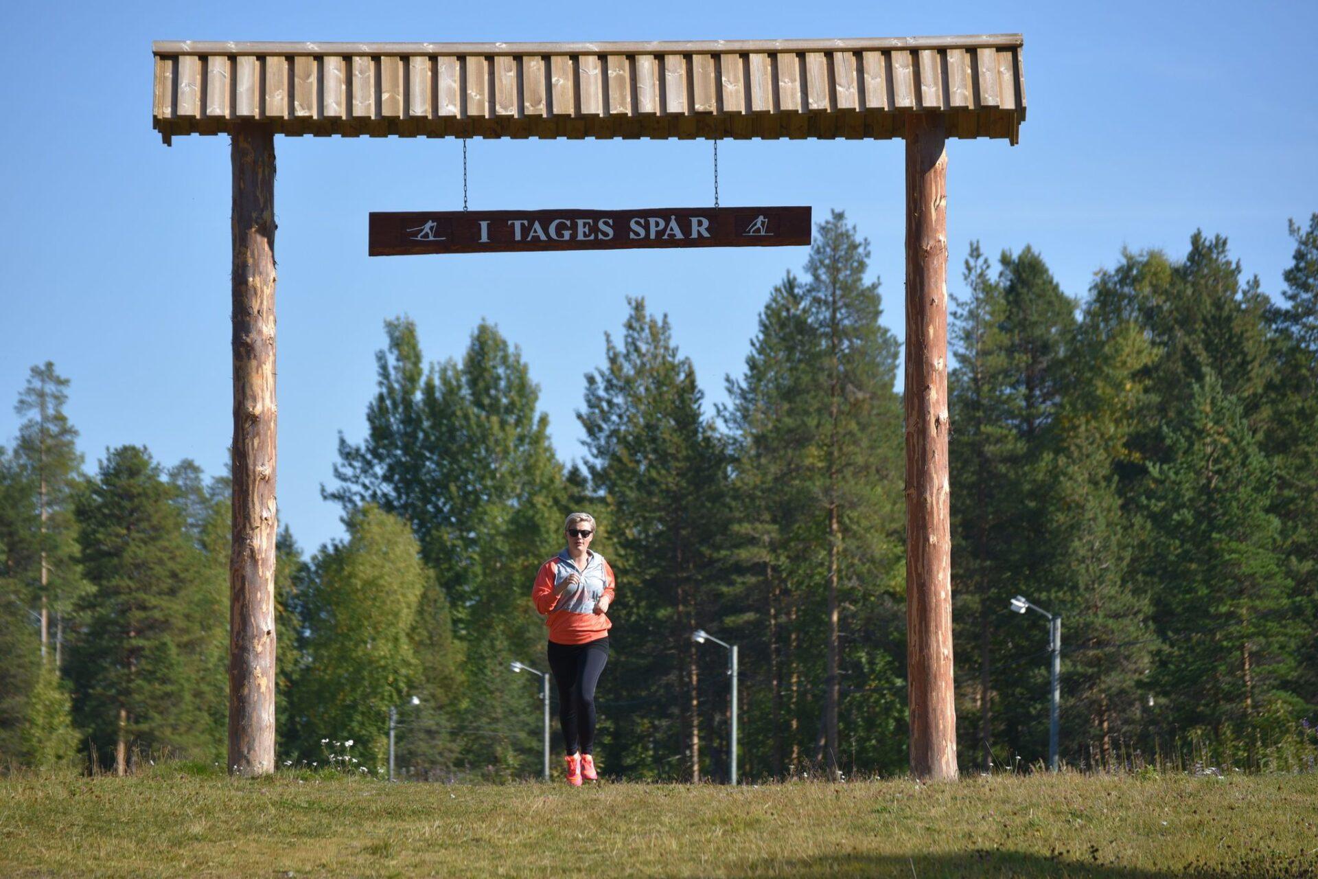 Löpning I Tages Spår Foto Daniel Svensson