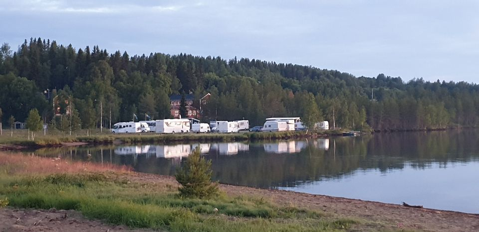 Malgovik Camping vybild sommar