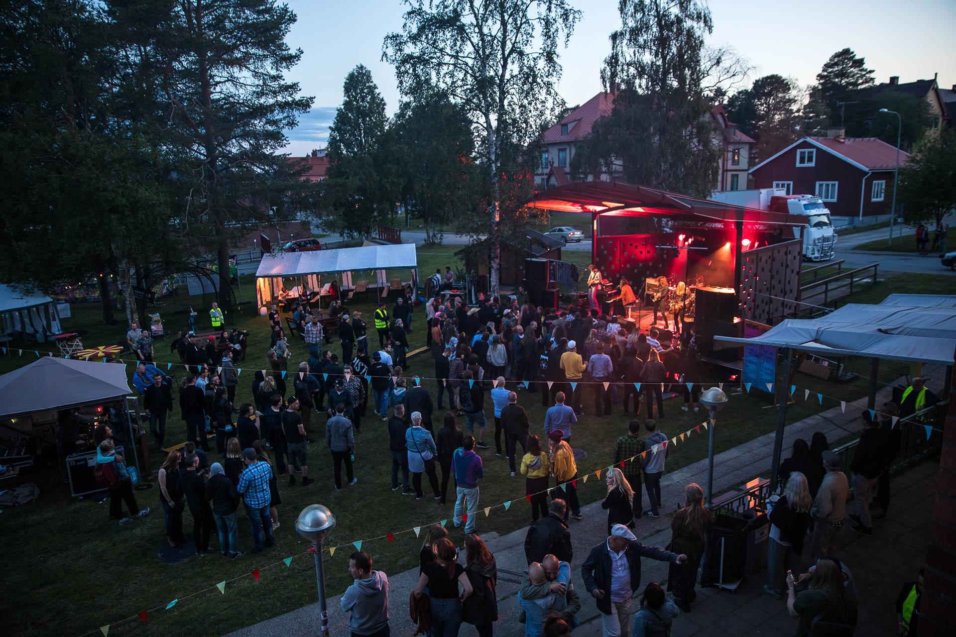 Midnight Light Festival sommarnatt
