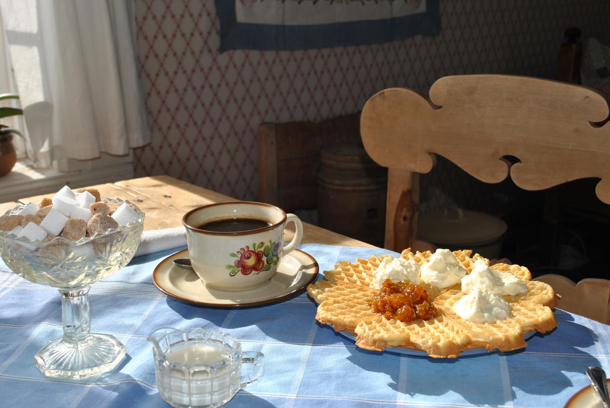 Norgefarargården Våffla och kaffe