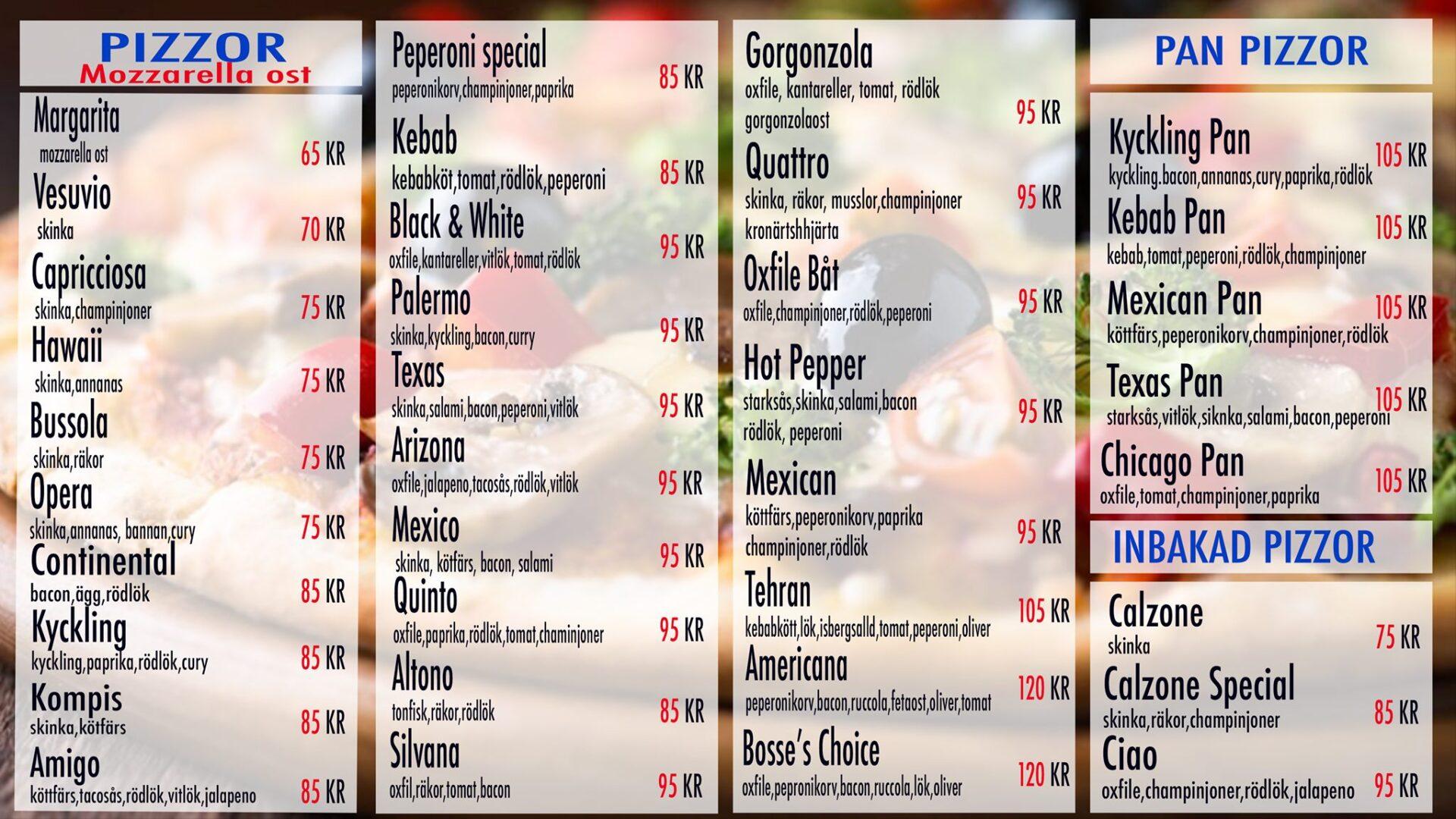 Pizzeria Quinto Meny