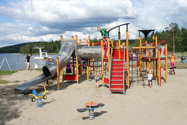 Rutschkana lekplats Saiva badplats