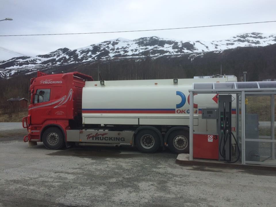 Sista utposten bensin