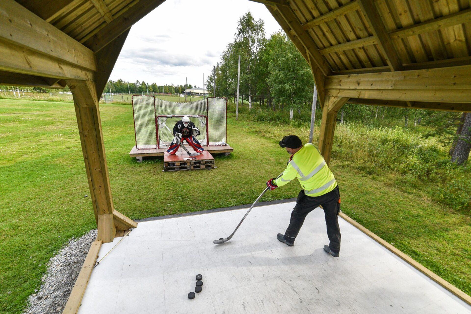 Skyttepaviljongen Foto Daniel Svensson