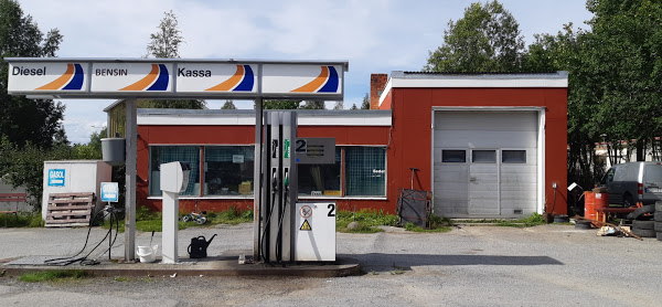 Stationen i Dikanäs