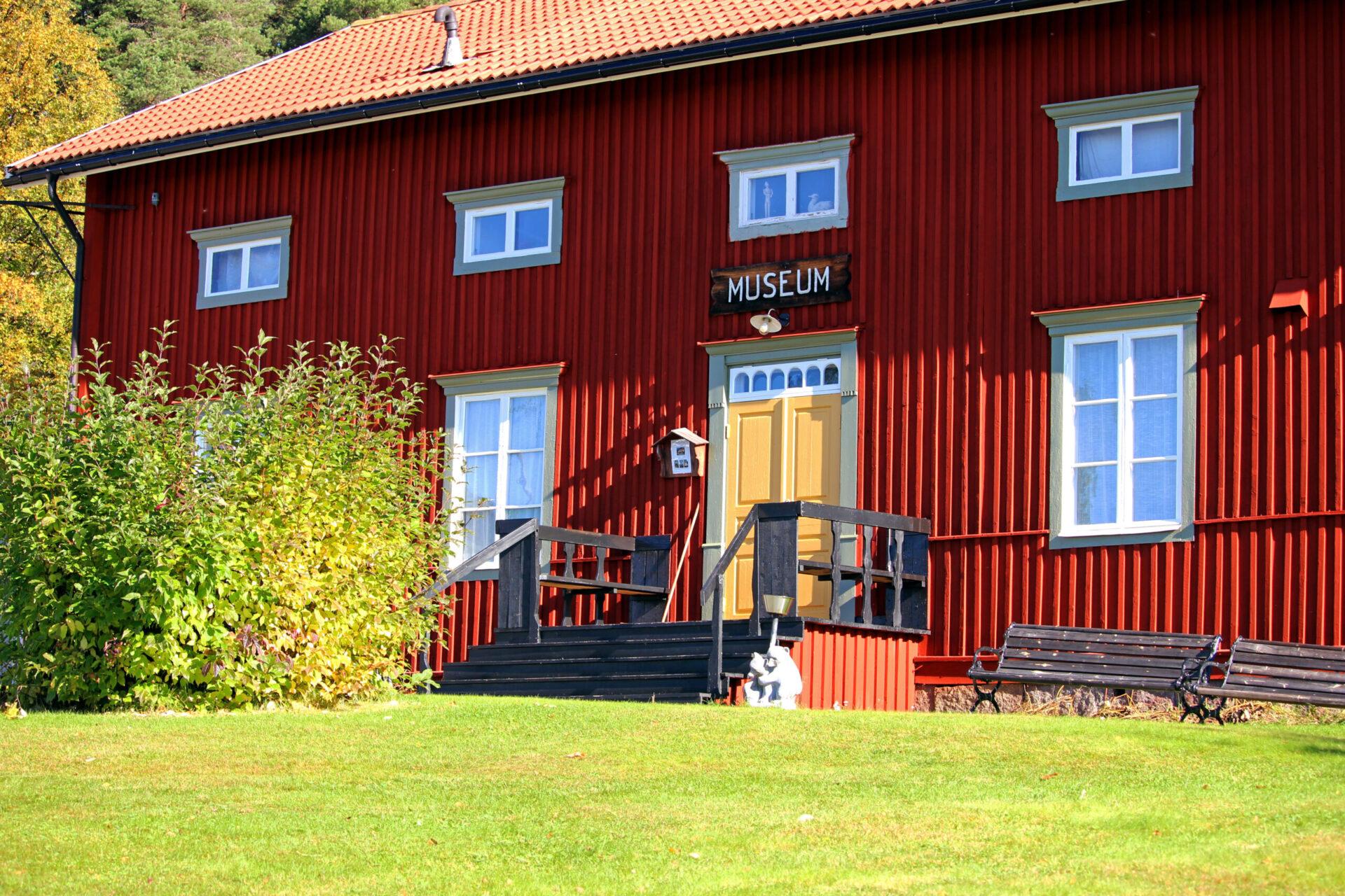 Vilhelmina museum, exteriör. Foto: Hanna Liljekvist