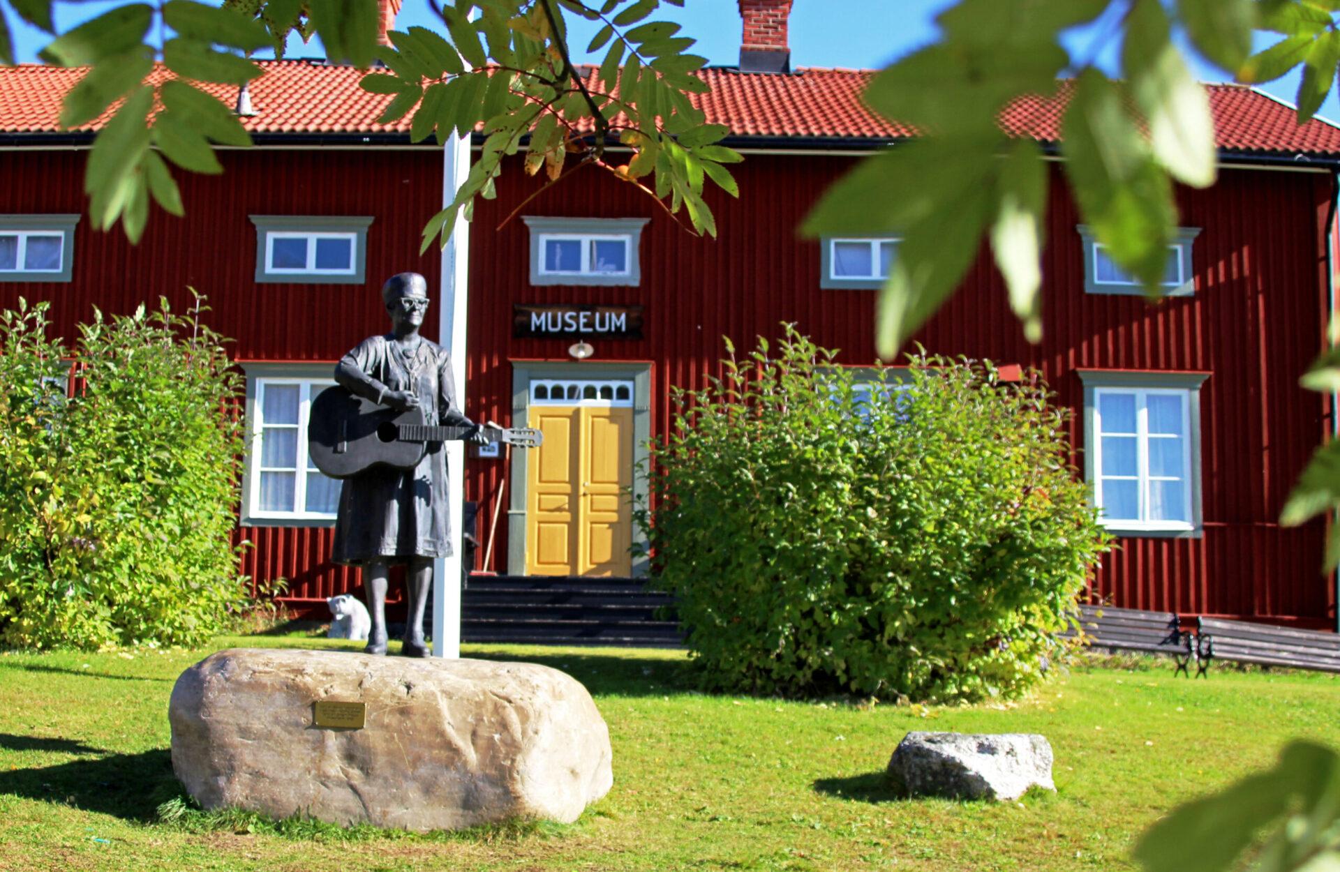 Vilhelmina museum Foto: Hanna Liljekvist