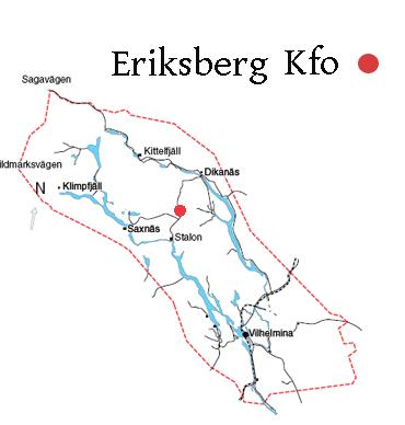 Eriksbergs by fiskekarta.