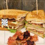Folkets Hus Cafeteria Grillade smörgåsar