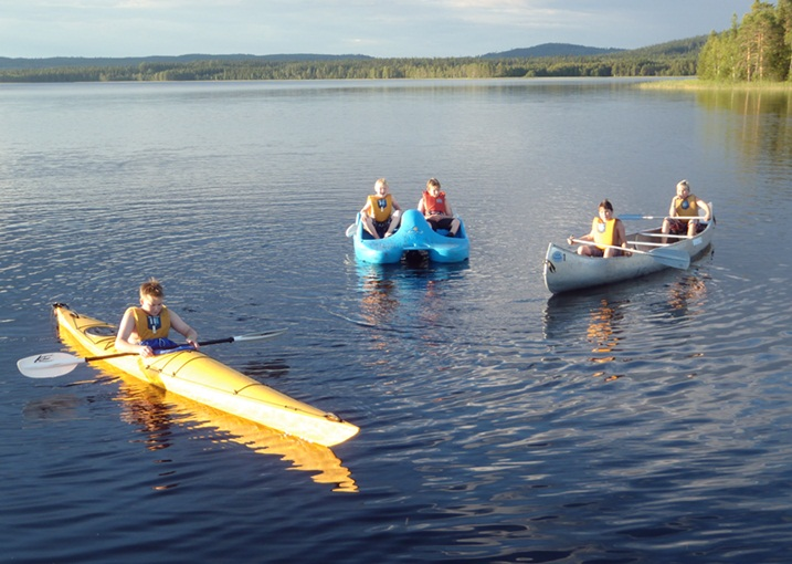 Kanot sommar Saiva Camping